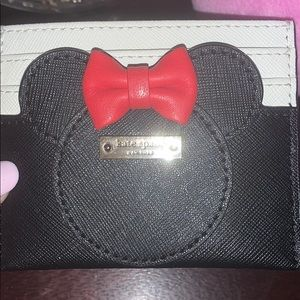 Kate Spade card case by Minnie Mouse